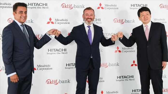 Aktif Bank'tan Hitachi ve Mitsubishi Corporation ile iş birliği