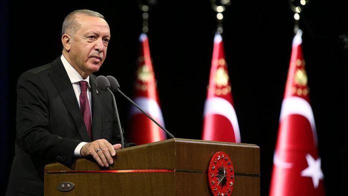 Cumhurbaşkanı Erdoğan'dan AB liderlerine mektup: Türkiye Doğu Akdeniz'in iş birliği bölgesi olmasını arzu etmektedir