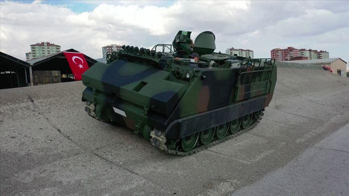 MKEK'ten insansız, hibrit zırhlı muharebe araç sürprizi