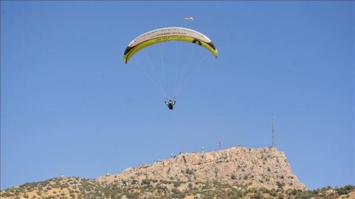 Türkiye Yamaç Paraşütü Hedef Şampiyonası'nın finali sona erdi