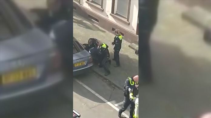 Almanya'da polis şiddetine tepki
