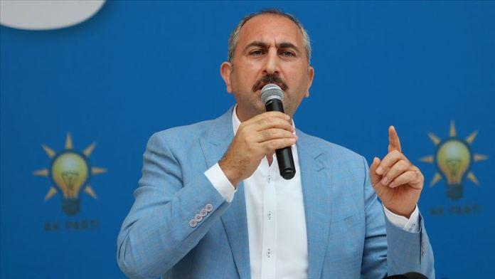 Adalet Bakanı Gül: Birliğimizi, beraberliğimizi bozmak isteyenlere fırsat vermedik