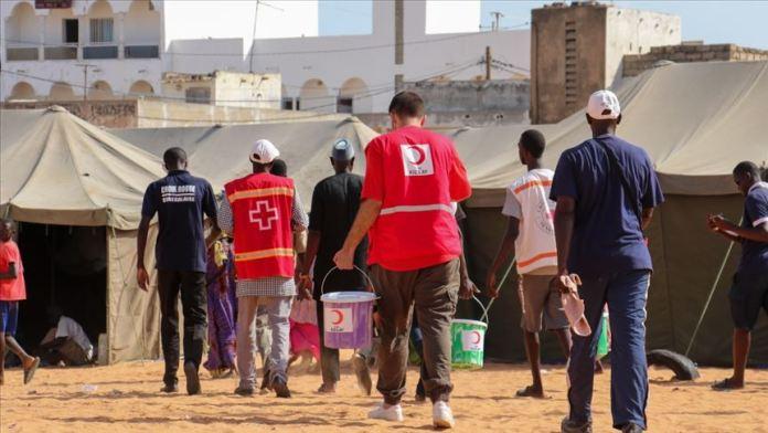 Türk Kızılay, Senegal'de sel mağdurlarına yardımlarını tamamladı