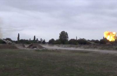 Azerbaycan ordusu ilerleyişini sürdürüyor