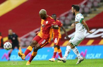 Galatasaray Alanyaspor karşısında uzatmada yıkıldı
