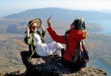 Doğaseverler Kovid-19 sürecinin stresini Nemrut Krater Gölü'nde atıyor