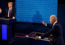 ABD'de Trump ve Biden'ın canlı yayın tartışması öncesi Kovid-19 testleri 'negatif' çıktı