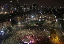 İsrail'de Netanyahu karşıtı gösteriler 18. haftasına girdi