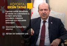 KKTC Cumhurbaşkanı Tatar: Müzakere sürecinde artık alternatif çözüm modelleri masaya getirilmeli