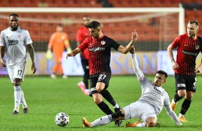 Beşiktaş deplasmanda kaybetti