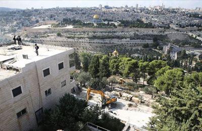 İsrail Doğu Kudüs'te Filistinlilere ait bir binayı daha yıktı