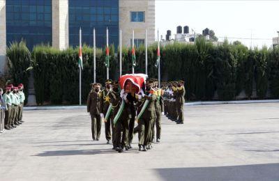 Vefat eden FKÖ Genel Sekreteri Ureykat son yolculuğuna uğurlandı