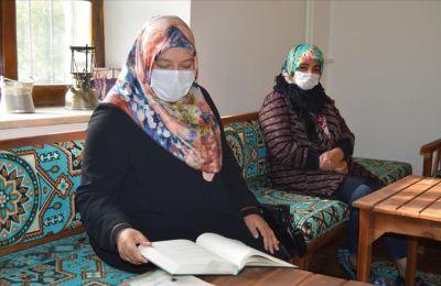 Afyonkarahisar'da kadınlar kültür evlerinde öğreniyor, eğleniyor, sosyalleşiyor