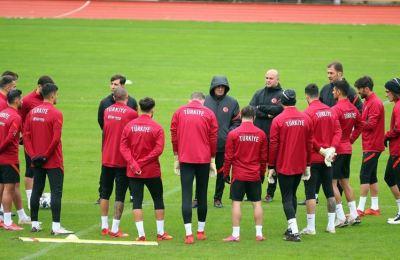 A Milli Futbol Takımı, Rusya maçı hazırlıklarına başladı
