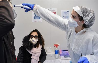 Fransa'da Kovid-19 nedeniyle son 24 saatte 418 kişi öldü