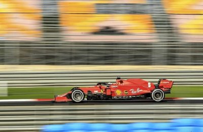 Formula 1 araçları İstanbul Park Pisti'ne çıktı