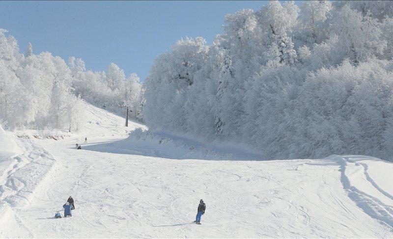 Kartepe'de kayak sezonu açıldı