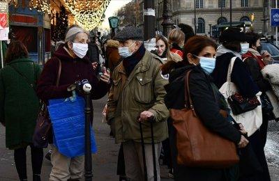 Fransa'da son 24 saatte 26 bin 784 Kovid-19 vakası açıklandı