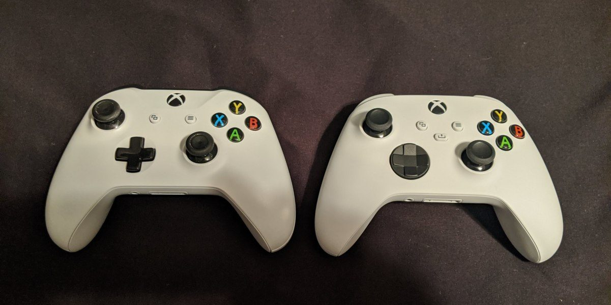 Xbox Series X And Xbox One Controllers Compared Side By Side Bullfrag
