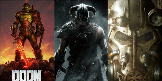 unocero - ¿DOOM, Elder Scrolls y Fallout serán solo de Xbox? Microsoft  responde