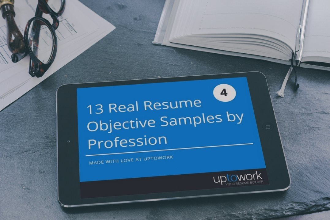 20 resume objectives examples use them on your resume tips