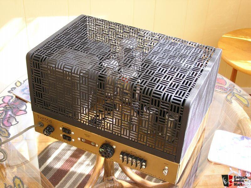 Heathkit W5m Tube Mono Power Amp Mint Top Of The
