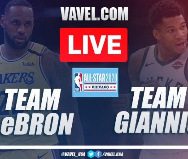 Full Highlights Team Lebron   Team Giannis In  Nba All