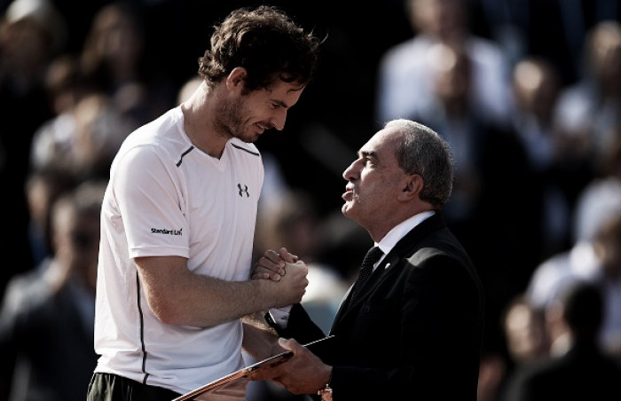 French Open: Andy Murray admits disappointment after Djokovic defeat in final