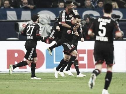 FC Schalke 04 0-1 Bayer Leverkusen: Bellarabi effort gives visitors vital points