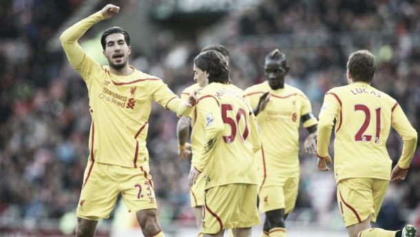 Should Emre Can be used in midfield or a defensive three?