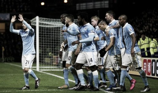Watford 1-2 Manchester City: Touré and Agüero seal dramatic comeback for travelling Citizens