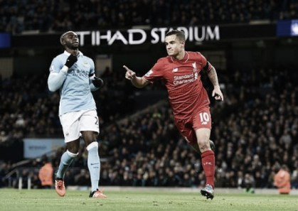 Manchester City 1-4 Liverpool: Blues humbled by efficient visitors