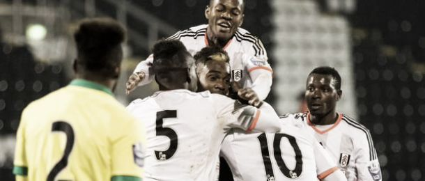 Fulham U21s 2-1 Norwich City U21s: Plumain at the double as young Whites prevail