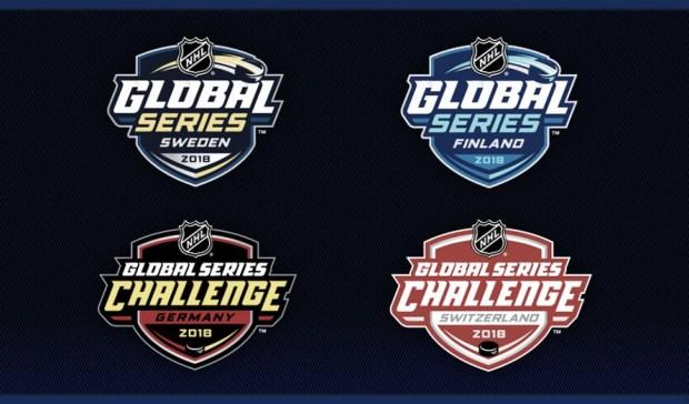 La NHL anuncia las fechas de las Global Series 2018 en Europa