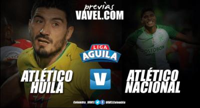 Atlético Huila vs Atlético Nacional: Los 'verdes' quieren ...