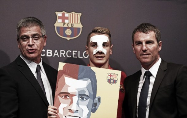 Lucas Digne hails Barcelona move as perfect place to develop