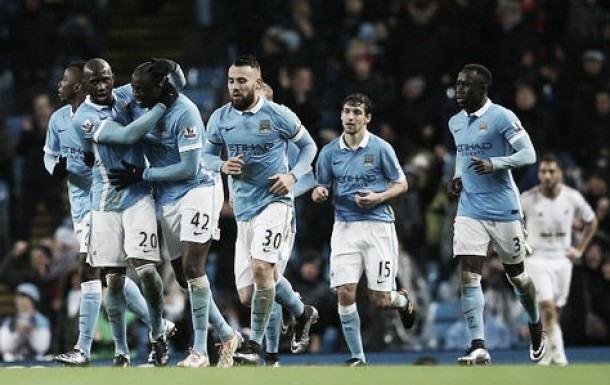 Manchester City 2-1 Swansea City: Touré stuns Swans with late winner