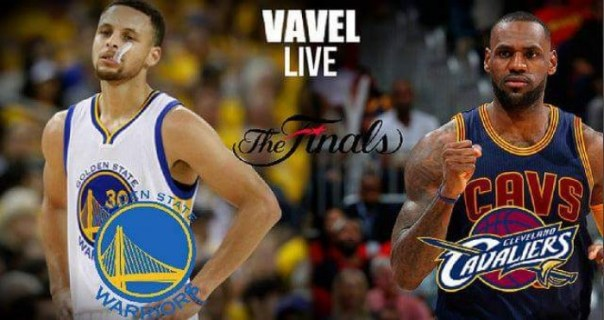 Golden State Warriors vs Cleveland Cavaliers Live Stream Commentary and Updates of the 2016 NBA Finals (50-55)
