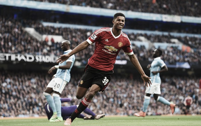 Manchester City 0-1 Manchester United: Rashford the hero as Citizens struggle in tense derby loss
