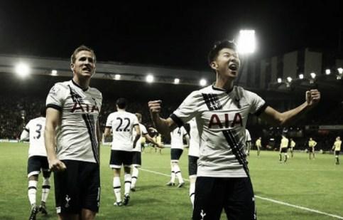 Watford 1-2 Tottenham Hotspur: Son's late winner sinks 10-man Hornets