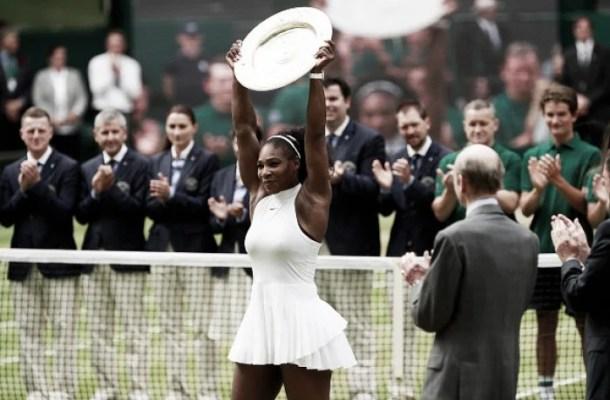 Wimbledon: Serena Williams wins 22nd Grand Slam in high-quality final
