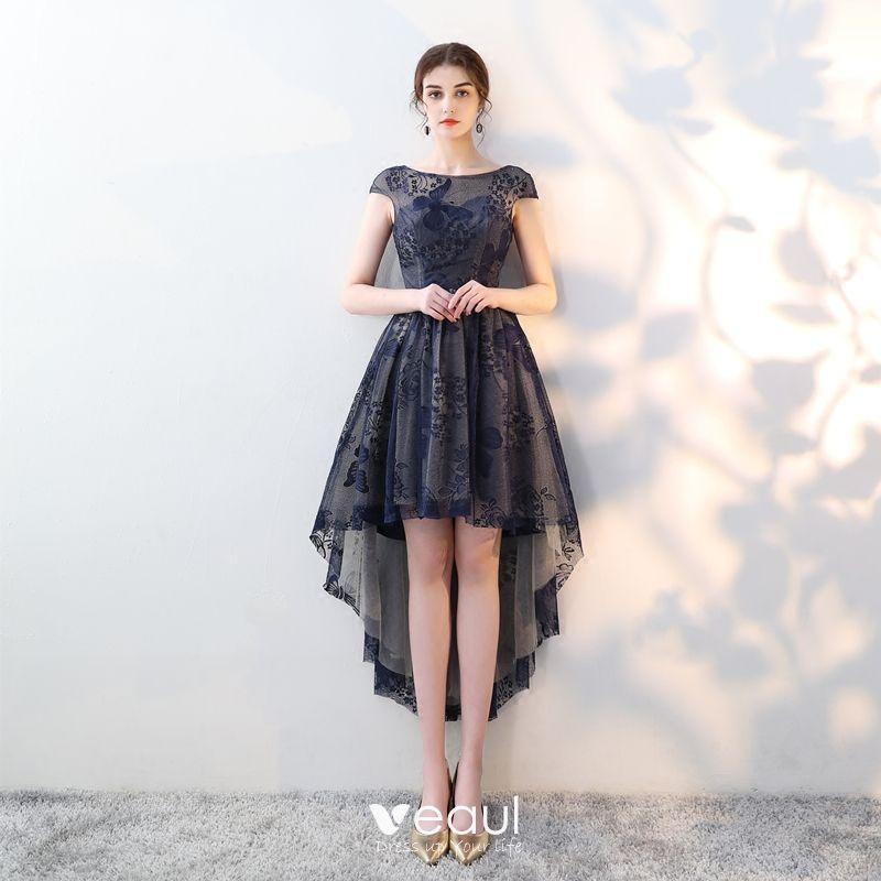 201 L 233 Gant Bleu Marine Robe De Cocktail 2018 Princesse