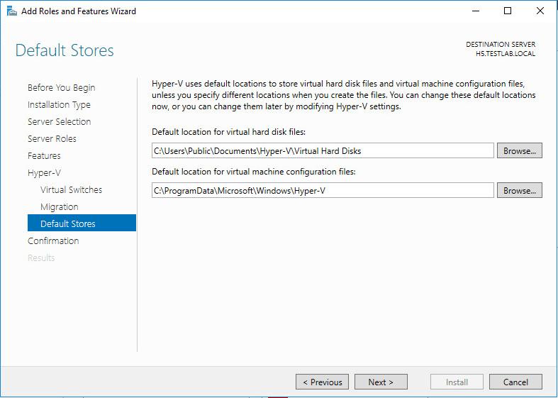 Windows Sunucu-2016-Hyper-V-Küme