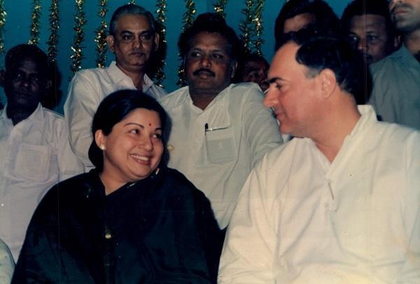 Rajivgandhi ஜெயலலிதா ராஜீவ் காந்தி