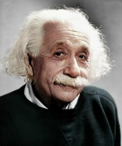 Seven Decades Before it Was Recognized, Einstein Proposed a Physics-Biology Connection