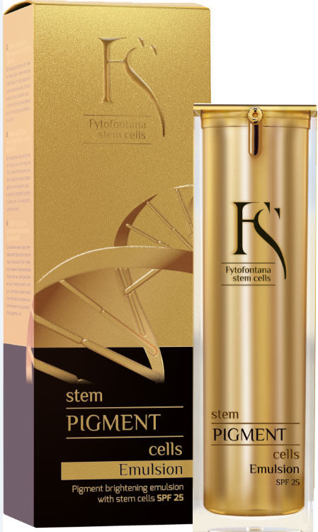 Fytofontana Stem Cells Pigment Emulsion - Emulze s kmenovými buňkami na zesvětlení pigmentace SPF 25 30 ml (kFY0013) od www.kosmetika.cz