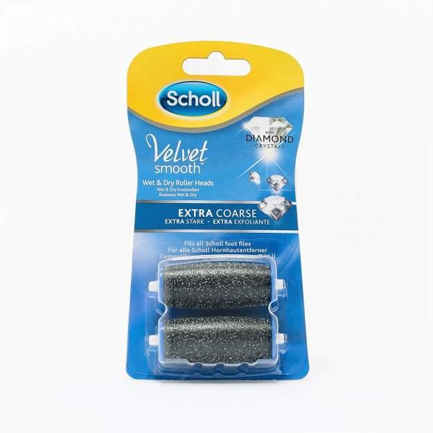 Scholl Náhradní hlavice do elektrického pilníku Velvet Smooth Diamond extra hrubé 2 ks (kOS8159301) od www.kosmetika.cz