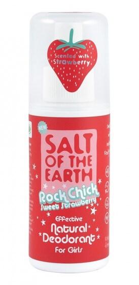Salt Of The Earth Přírodní deodorant ve spreji Jahoda Rock Chick Sweet Strawberry (Natural Deodorant) 100 ml (kOS359) od www.kosmetika.cz