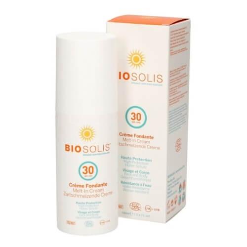 Biosolis Rychle se vstřebávající krém na obličej a tělo SPF 30 (Melt-In Sun Cream) 100 ml (kBIS002) od www.kosmetika.cz