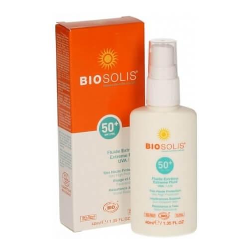 Biosolis Voděodolný sprej na opalování SPF 50 (Extreme Fluid) 40 ml (kBIS005) od www.kosmetika.cz
